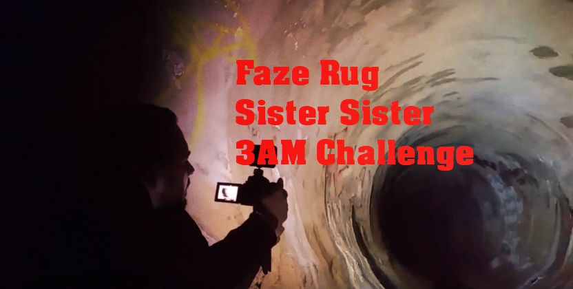 WHAT DID WE FIND in the FAZE RUG TUNNEL after a SISTER